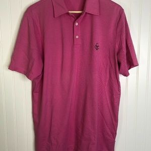 Pink Rlx Golf Polo Pink Medium Cgc Short Sleeve